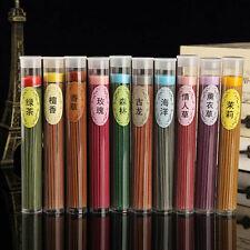 50pcs Floral Scent Incense Fragrance Candle Sticks Bulk Burner Air Freshener Hot