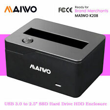 "MAIWO USB 3.0 to 2.5"" SATA HDD SSD Hard Disk Drive HDD Enclosure Docking Station"