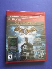Batman Arkham Asylum *Game of the Year Edition* (PS3) BRAND NEW