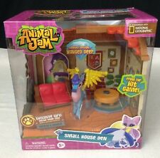 Animal Jam Game SMALL HOUSE DEN w/ Limited Edition Winged Deer Playset Code 5+