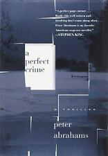 A Perfect Crime, Abrahams, Peter, Good Book