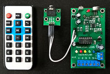 5 Channel Audio PWM LED Controller, Music Light Show, Color Organ, Chaser Remote