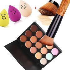 Pro Maquillage Cache-cernes Contour Palette+Eau Bouffée D'éponge+