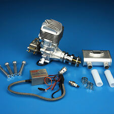 DLE35RA Engine W/Electronic Igniton &Muffler For 30CC 35CC Fix Wing US Stock