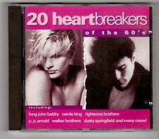 (GY545) 20 Heartbreakers Of The 60's - 1993 CD
