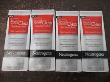 (4) NEUTROGENA-RAPID CLEAR STUBBORN ACNE DAILY LEAVE-ON MASK-EXP: 6/17+ - AA 702