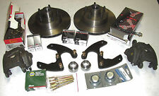 Front Disc Brake Conversion Budget Kit, All 1951-1966 Studebaker Cars- Free Shpg