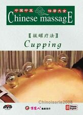 Traditional Chinese Medicine Massage Cures Cupping DVD