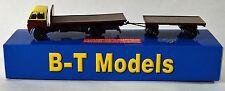 BT Models A013B Foden FG F/Bed & Drawbar Trailer Choc/Cream 00 Gauge 1:76 Scale