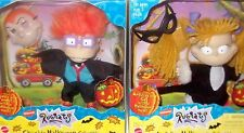 1998 Nickelodeon Rugrats Angelica Chuckie Halloween Figure Mattel LOT MISB NEW