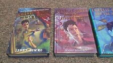 JENNY NEMMO 3 hardcover SERIES: THE  CHILDERN of the RED KINGS