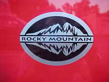 "Jeep Wrangler ROCKY MOUNTAIN DECAL STICKER 5 X 3.5"" OEM NEW MOPAR GENUINE"
