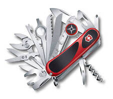 Victorinox Swiss Army Knife, EvoGrip Red/Black S54, # 2.5393.SCUS2, Box Damaged