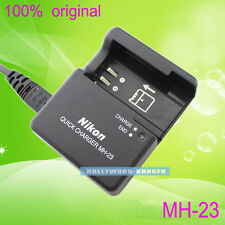 Genuine Original Nikon MH-23 Charger for D40 D40x D60 For EN-EL9 EN-EL9A Battery