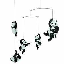 Flensted Panda Bear Hanging Baby Mobile Nursery Decor-Free Shipping!