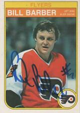 BILL BARBER SIGNED 82-83 O-PEE-CHEE #246  - PHILADELPHIA FLYERS