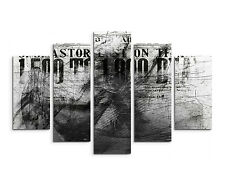 Astratto _ 1409 _ 5 pezzi - 150x100cm moderno tela Paul Sinus moderno XXL