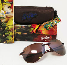 New Maui Jim Polarized SUGAR BEACH Rootbeer / HCL Bronze Grey Sunglasses H421-26