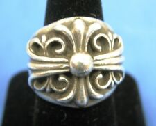 "Original Chrome Hearts Silver ""Keeper""  Ring"