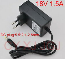 AC Adapter DC 18V 1.5A 1500mA Power Supply for BCA-144 Ryobi 14.4V Drill Charger