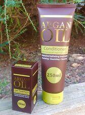 Moroccan Argan Oil Hair Care Treatment Oil & Conditioner -Rejuvenate & Rehydrate