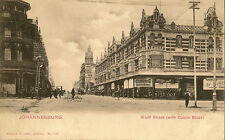 JOHANNESBURG ( South Africa) : Eloff Street ( with castle Block) -LEVY