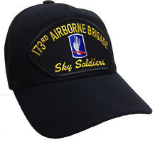 173rd Airborne Ranger Brigade US Army Sky Soldiers Veteran Ball Cap Patch Hat