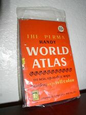 The Perma Handy World Atlas by Alexander Gross (Permabooks#P70,1950, Hardcover)