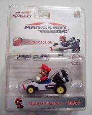 MARIOKART DS MARIO B-DASHER 19301 Pull Back Action Car Kart NIP
