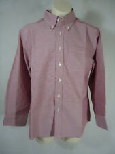 George Boy's Long Sleeve Dress Shirt - Size  XL (14-16) - Red