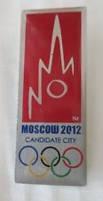 2012 MOSCOW OLYMPICS  BID PIN BADGE