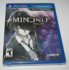 Mind Zero 0 for Playstation Vita Brand New!