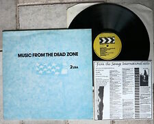 MUSIC FROM THE DEAD ZONE TWO  2 → USA   LP  Dead Man's Curve CDZ 02