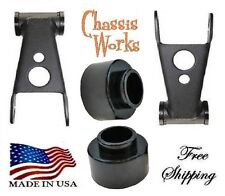 "1984-2001 Jeep Cherokee XJ 3""-2"" Coil Spacer Lift Shackles Leveling Kit Lift Kit"
