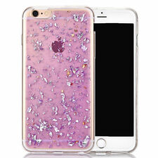 Glossy Glitter Sparkly Rubber Silicone Shockproof Case Cover for iPhone 7 7 Plus