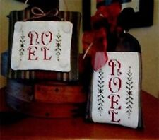 NOEL-TWO VERSIONS CROSS STITCH SAMPER-WIDGETS & WOOL PRIMITIVES
