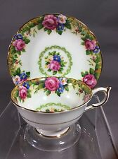 Paragon Fine Bone China England Tapestry Rose Tea Cup&Saucer