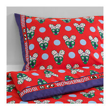Ikea Glodande Child's Single Quilt/Duvet Cover and 2 pillowcases - red