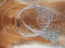 "60"" 7x7 1/16th Micro Lock Snares good for bobcat (1 DZ) [traps,snares]NEW SALE"