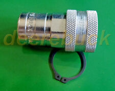 Female Quick Coupler For 140 - 430 John Deere Garden Tractors And Implements