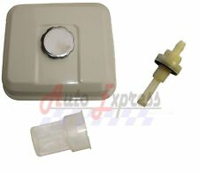 NEW Fuel Tank Gas For Honda GX160 for 5.5HP with Petcock Gas Cap Filter White