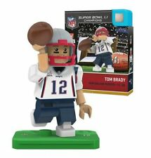 NFL New England Patriots Super Bowl Li campeón Tom Brady Oyo Mini figure-RARE