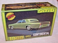 Vintage AMT 1969 Lincoln Continental Model Kit! Factory sealed!
