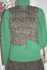 Noa Noa  New Top Bluse Ärmelos Canonbury Cotton Cave / Braun Brown size: L Neu