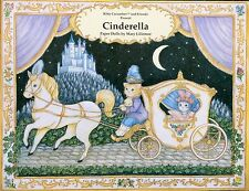 Kitty Cucumber & Friends Cinderella Paper Doll Book, Shackman 1999, Uncut