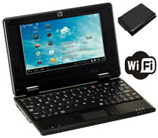 DWO netbook 7 pulgadas Android 4.2 Wifi VIA 8880 512MB RAM 4G mini portátil