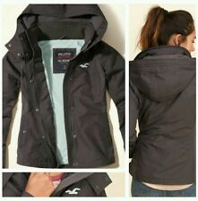 WOMEN'S Hollister by Abercrombie All WEATHER FLEECE LINED JACKET SIZE SMALL