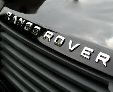 Chrome Lettering for RANGE ROVER P38 Bonnet letters badge accessories logo font