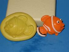 Nemo Silicone 2D Push Mold A168 Cupcake Chocolate Resin Candy Clay Fondant Soap