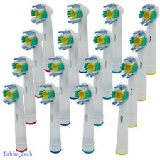 NEW 16 x Electric Tooth brush Heads Replacement for Braun Oral B 3D WHITE ACTION